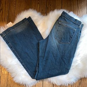 Gap Long and Lean Bootcut Jeans Stretch